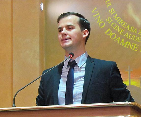 Pop Răzvan, diacon