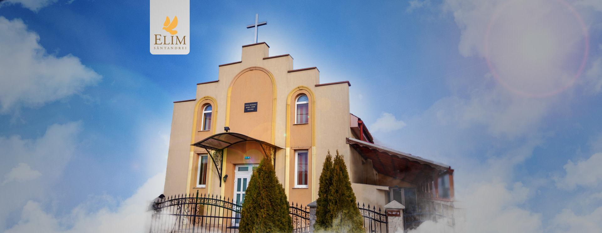 Biserica Elim Sântandrei, exterior